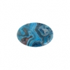 Blue Crazy Lace Agate 13x18mm Oval 9Pcs Approx